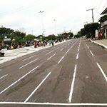 Bom dia! Na manhã desta terça-feira, 07, a rotatória e ruas do Largo Marechal Deodoro ficarão interditadas para as disputas de salto em distância da décima nona edição dos Jogos Escolares de Maués. Atenção no trânsito!