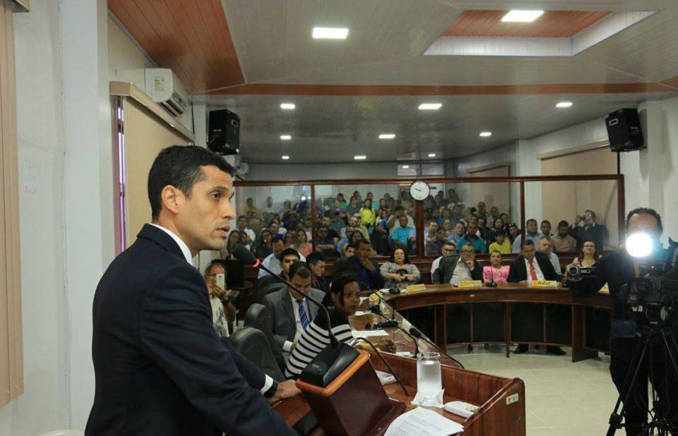Prefeito Junior Leite anuncia novas metas e ações para 2018