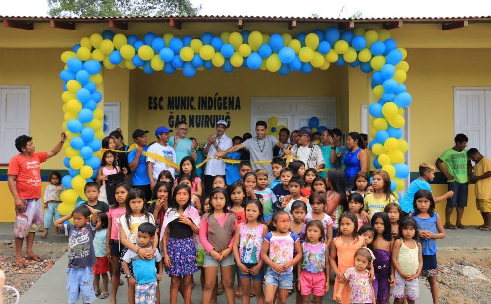 Dia do Índio: povo Sateré-Mawé comemora com escolas novas