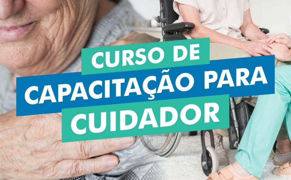 Prefeitura de Maués abre inscrições para curso de cuidador de idosos e deficientes