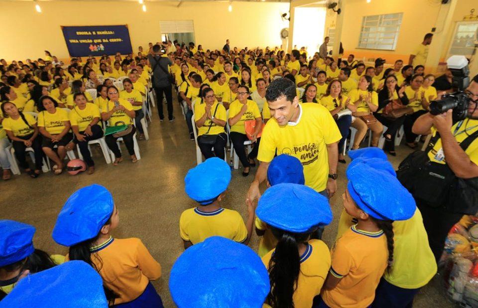 Prefeito Junior Leite lança projeto antidrogas em Maués