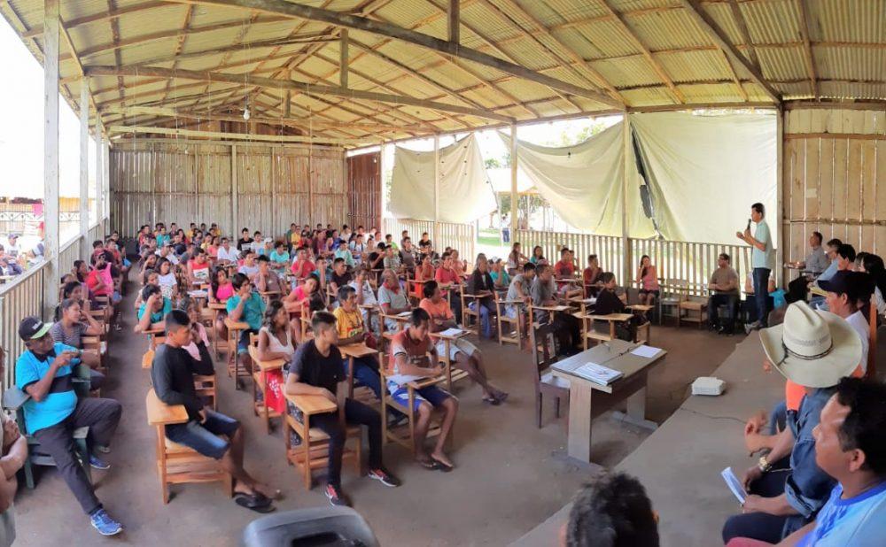 Pirayawara: Indígenas Saterê Mawé participam de curso para formação de professores