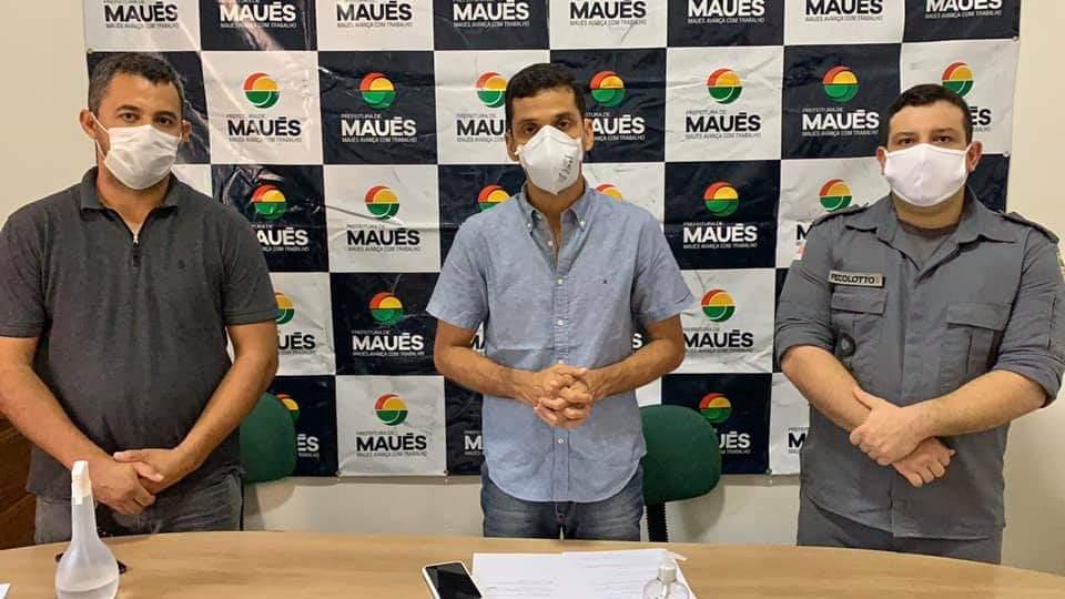 Prefeito Junior Leite anuncia novas medidas de combate a Covid-19