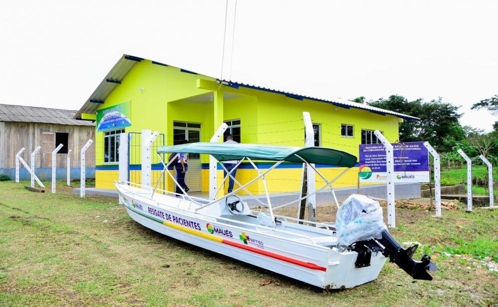 Prefeitura de Maués entrega novos postos de saúde no interior