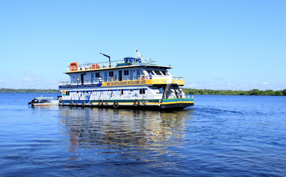 UBS Fluvial de Maués realiza mais uma viagem a zona Rural