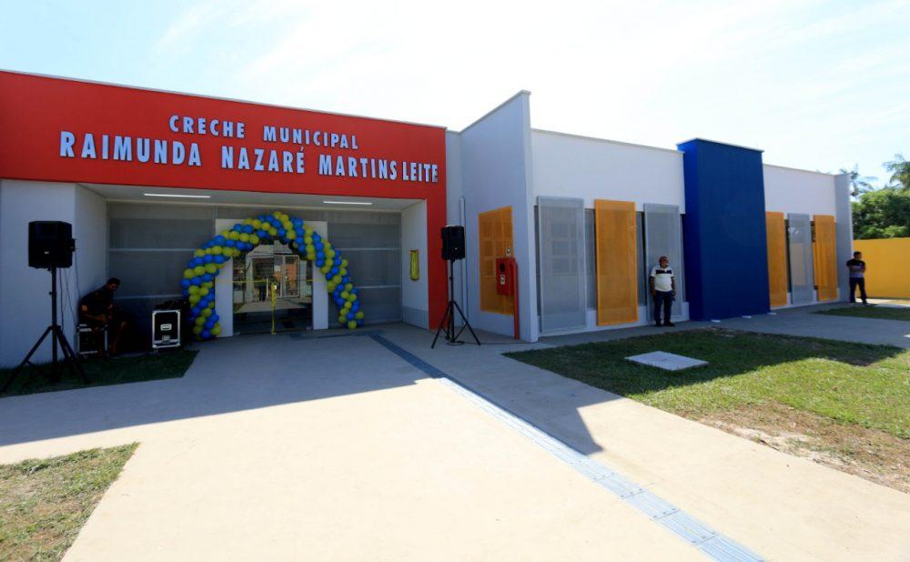 Prefeitura de Maués entrega a terceira creche do Município
