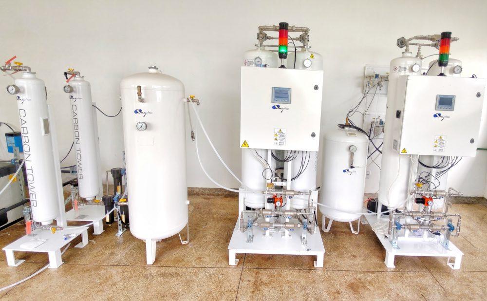 Prefeitura de Maués providencia mais uma usina de oxigênio
