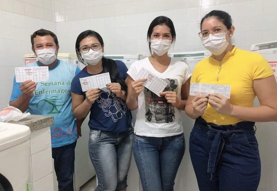 Profissionais de saúde de Maués começam a receber a segunda dose da vacina contra Covid-19