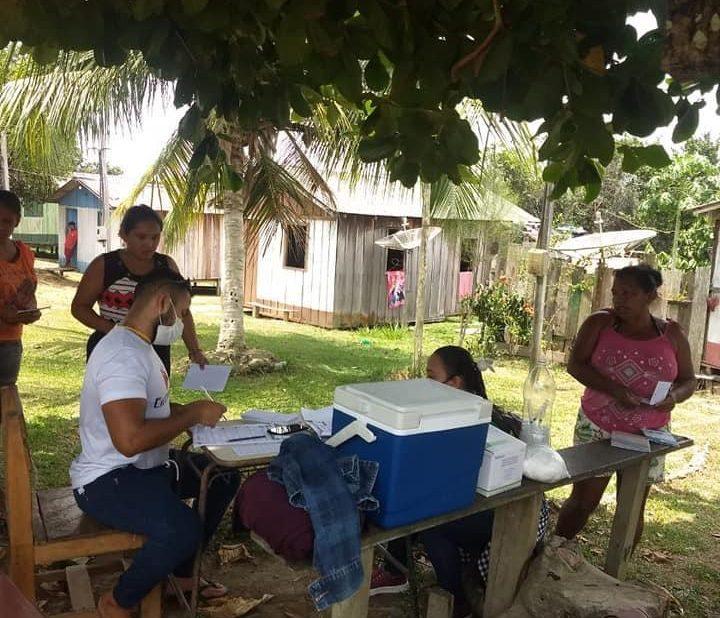 Busca Ativa: Maués conscientiza ribeirinhos sobre importância da imunização contra a Covid-19
